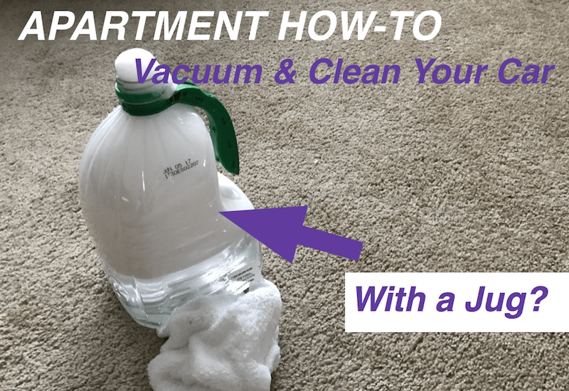Apartment Living: Vacuuming & Cleaning Your Car - Them Vacuums